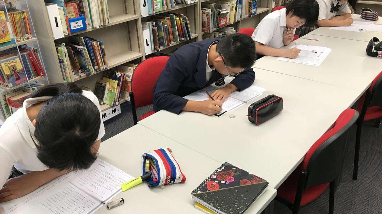 漢字検定を行いました