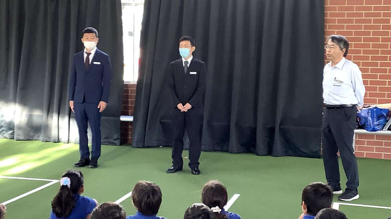 5月6日(木),新派遣教員が着任しました