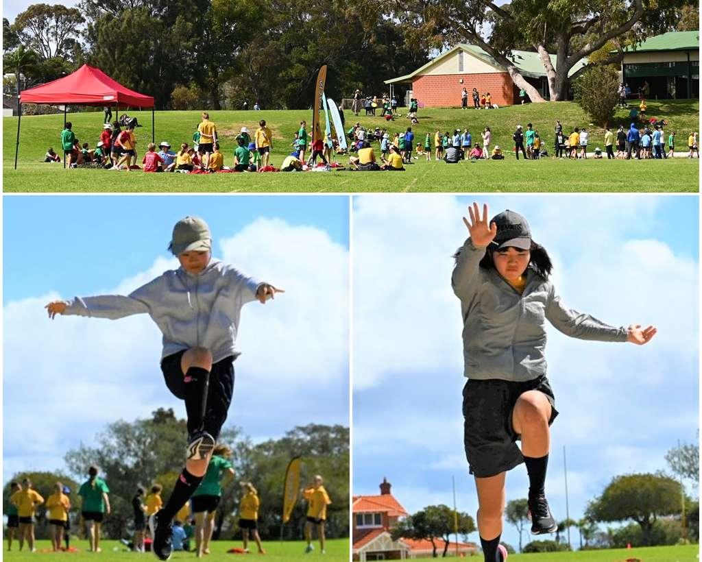 Jump & Throw